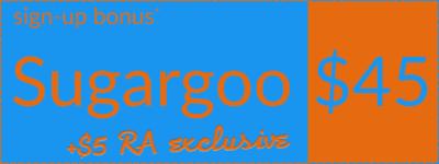 Sugargoo welcome bonus coupon, left orientation, RepArchive exclusive bonus