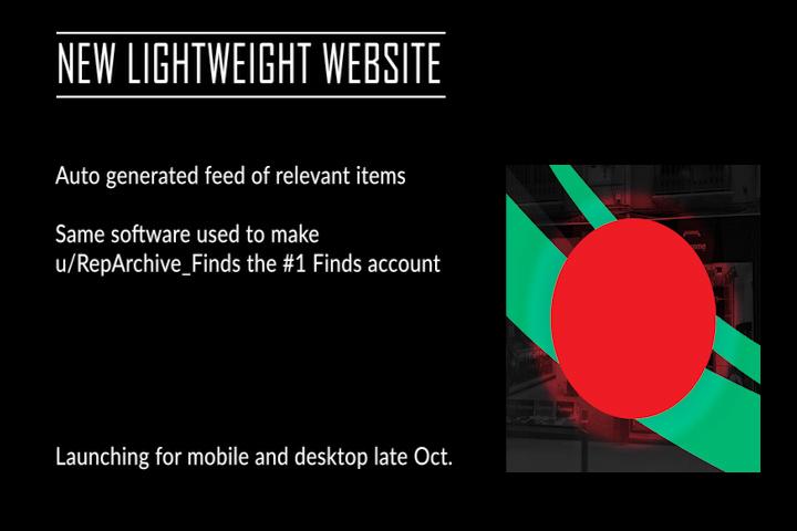 new lightweight website